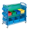 Honey Can Do All-Purpose Teaching Cart, Blue