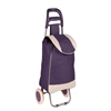 Honey Can Do Rolling Fabric Cart, Plum