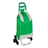 Honey Can Do Bag Cart With Tri-Wheels, Green