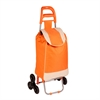 Honey Can Do Bag Cart With Tri-Wheels, Orange