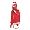 Honey Can Do Rolling Fabric Cart Red