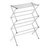 Chrome Accordion Drying Rack 24 Linear Feet