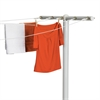 7-Line T-Post Outdoor Dryer, White