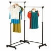 Dual Bar Corner Garment Rack