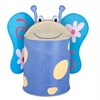 Large Kids Pop-Up Hamper - Butterfly, Blue / Yellow