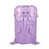 Honey Can Do Large Kids Pop-Up Hamper - Elephant, Purple