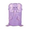 Large Kids Pop-Up Hamper - Elephant, Purple