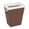 Honey Can Do Brown Hamper With Removable Liner, Tan/Brown