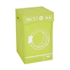 Graphic Hamper, Washing Machine Lime, Green