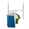 Chrome Adjustable Hanging Closet Rod