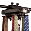 Honey Can Do Battery Powered Tie And Belt Organizer, Black