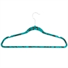 Honey Can Do 20Pk Velvet Hanger, Bluehawaii