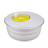 Salad Spinner, White And Green