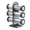 Zero Gravity Countertop Magnetic Spice Stand, Metallic/Grey