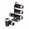 Zero Gravity Countertop Magnetic Spice Stand, Black