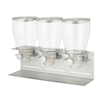Commercial Plus Triple Canister Dispenser, Silver
