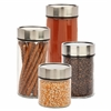 4Pc Date Dial Jar Set