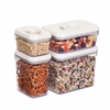 Honey Can Do 8Pcs Locking Lid Storage Set