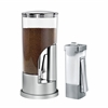 Honey Can Do Coffee Dispenser & Sugar Dispenser Set, Silver
