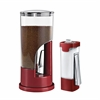 Coffee Dispenser & Sugar Dispenser Set, Red