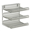 Honey Can Do 3-Tier Desk Organizer, Silver