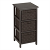 3-Drawer Storage Chest, Espresso