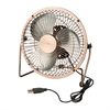 Usb Powered Desk Fan, Bronze
