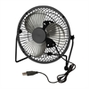 Usb Powered Desk Fan, Black