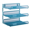 3-Tier Desk Organizer, Blue