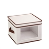 Honey Can Do Natural Canvas Medium Window Storage Box