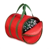 Storage Reels And Bag, Red / Green Trim