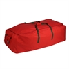 Canvas Artificial Tree Rolling Storage Bag, Red / Green Trim