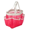 Honey Can Do Pink 7 Pocket Shower Tote