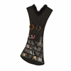 Honey Can Do Black Dress Jewelry Organizer, Feather Collar