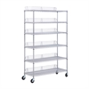 6-Tier Chrome Urban Shelving Unit