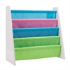 Honey Can Do Itsy-Bitsy Book Rack, Pastel