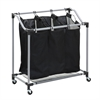 Elite Triple Laundry Sorter, Black