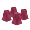 Bed Risers-Pink Set Of 4