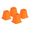 Honey Can Do Bed Risers - Orange