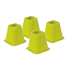 Honey Can Do Bed Risers - Green