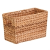 Magazine Basket Water Hyacinth, Natural / Brown