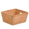 Honey Can Do Large Tall Water Hyacinth Basket, Natural / Brown