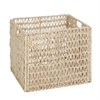 Folding Basket, Natural