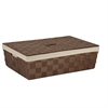 Paper Rope Underbed Baskt, Brown