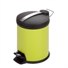 Honey Can Do 5L Step Trash Can, Lime