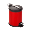 3L Step Trash Can, Red, Ruby Red