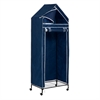 Honey Can Do 30In Portable Storage Closet, Blue