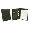 Bond Street Black Sleek and Stylish Leather Look Writing Case