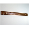 Home Essential Tie & Belt Hanger in Walnut finish.