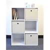 Proman Products Colonial Storage Cube White